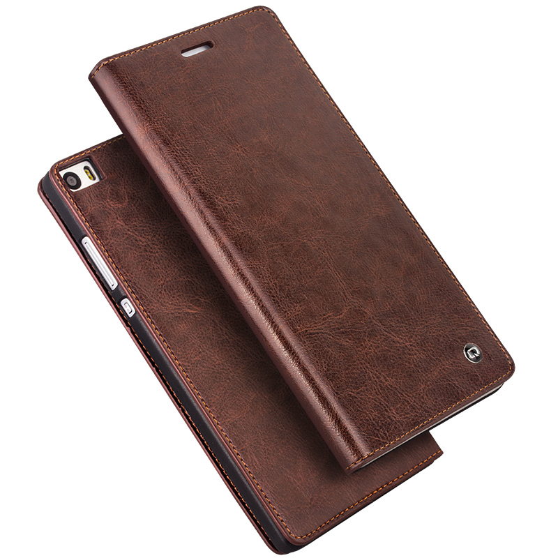 Huawei ascend P8MAX real leather 6.8 inch P8MAX p8max clamshell phone shell mobile phone protective sleeve men