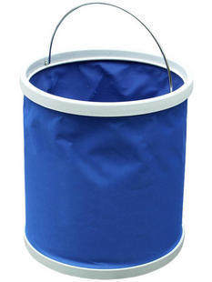 Hung 11 liters folding bucket car cleaning supplies canvas thickening car wash bucket car wash supplies