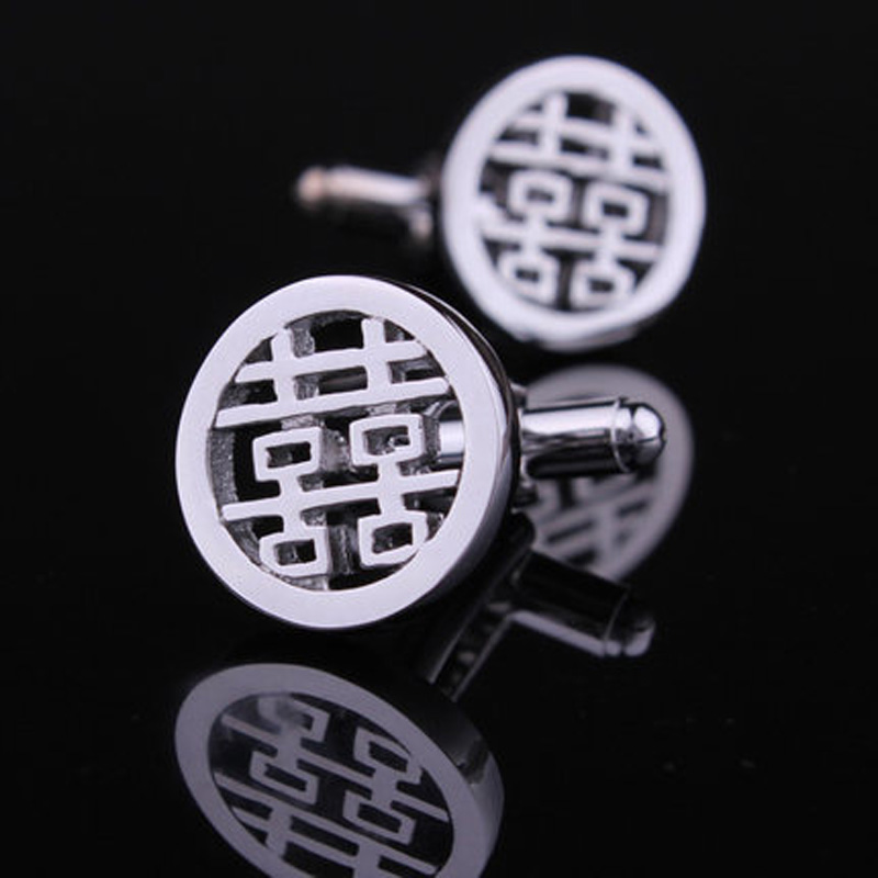 Hunting is still double happiness cufflinks cufflinks cufflinks male french shirt cuff cufflinks for men cufflinks