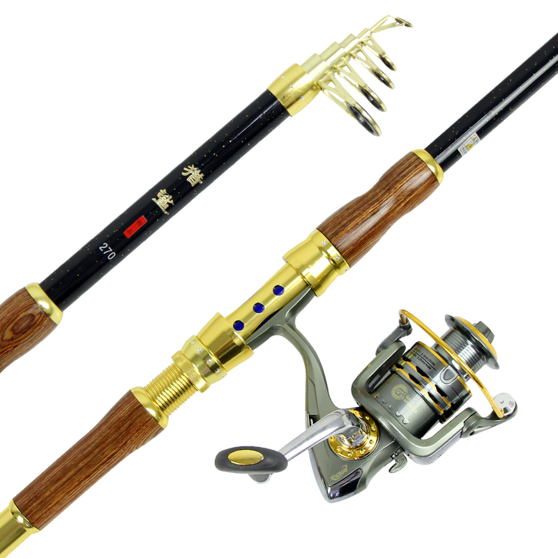Hunting shark gaoqiu carbon sea rod 2.1/2.4/2.7/3.0/3.6 m sea pole pole cheap suit hanging hook Supplies