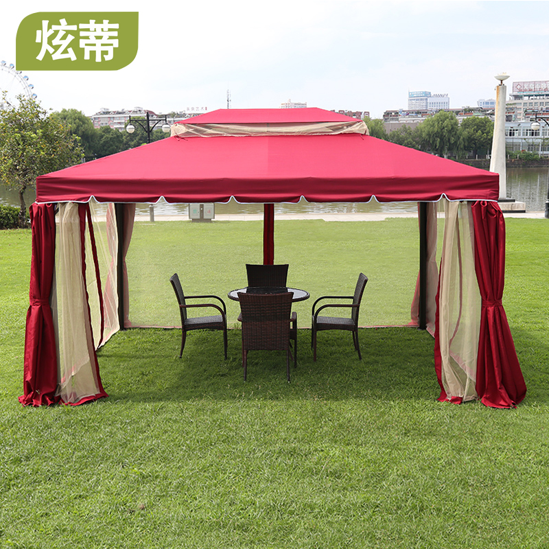 Get Quotations · Hyun di roma tent large outdoor patio gazebo gazebo pavilion tent advertising activities garden gazebo huts & China Portable Gazebo Tent China Portable Gazebo Tent Shopping ...