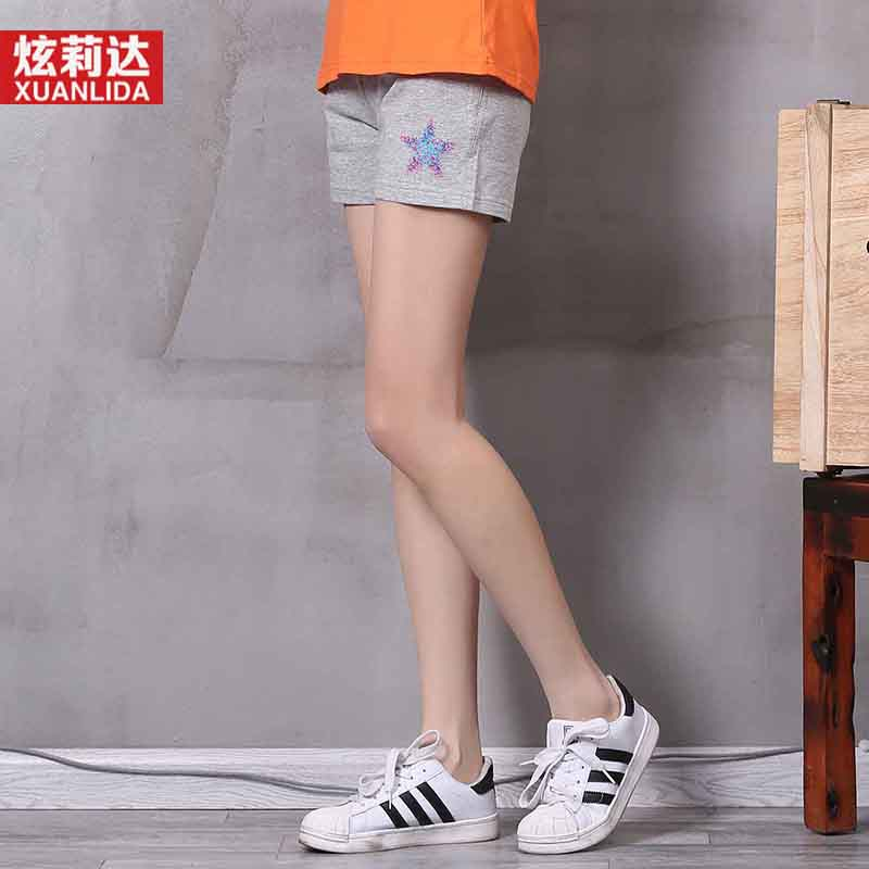 Hyun lida 2016 summer new sports shorts female summer casual pants outer wear wild tide was thin loose
