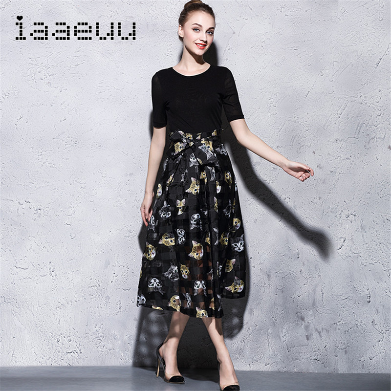 IAAEUU2016 summer new women's bust skirt slim leisure suit fashion women dress europe station 0727