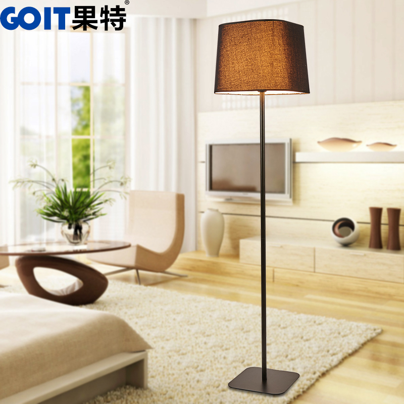 If special vertical floor lamp modern minimalist living room floor lamp bedroom bedside nordic ikea creative floor lamp
