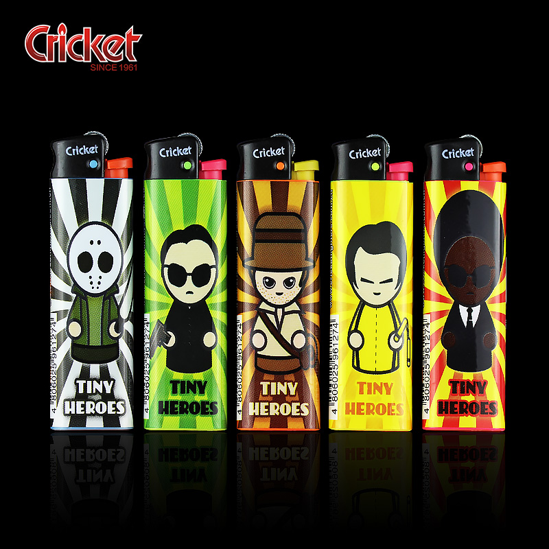 Import grasshoppers cricket disposable lighters advertising lighters lighters custom made to order personalized creative gifts yet
