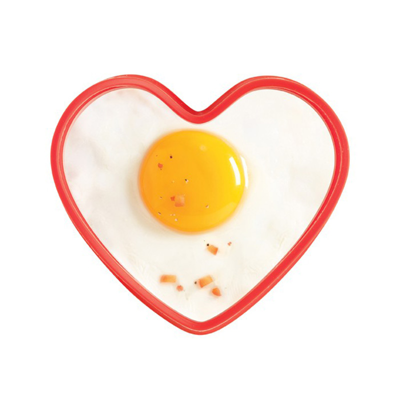 Imported from france mastrad heart shaped silicone omelette is fried egg omelette mold creative tools