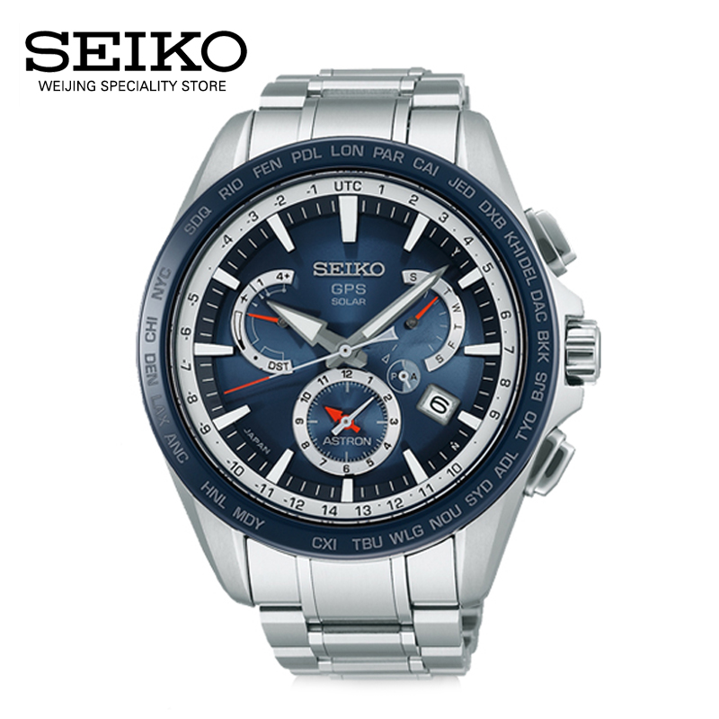 Imported from japan seiko seiko solar watch SSE053J1 astron gps satellite positioning