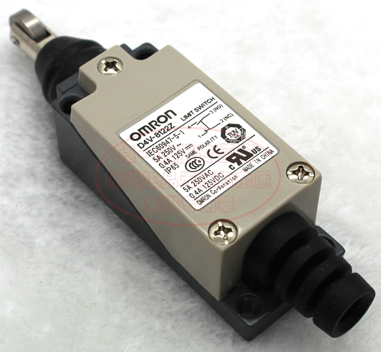 Imported genuine omron (shanghai) omron limit switch D4V-8122Z (me tz 8122)