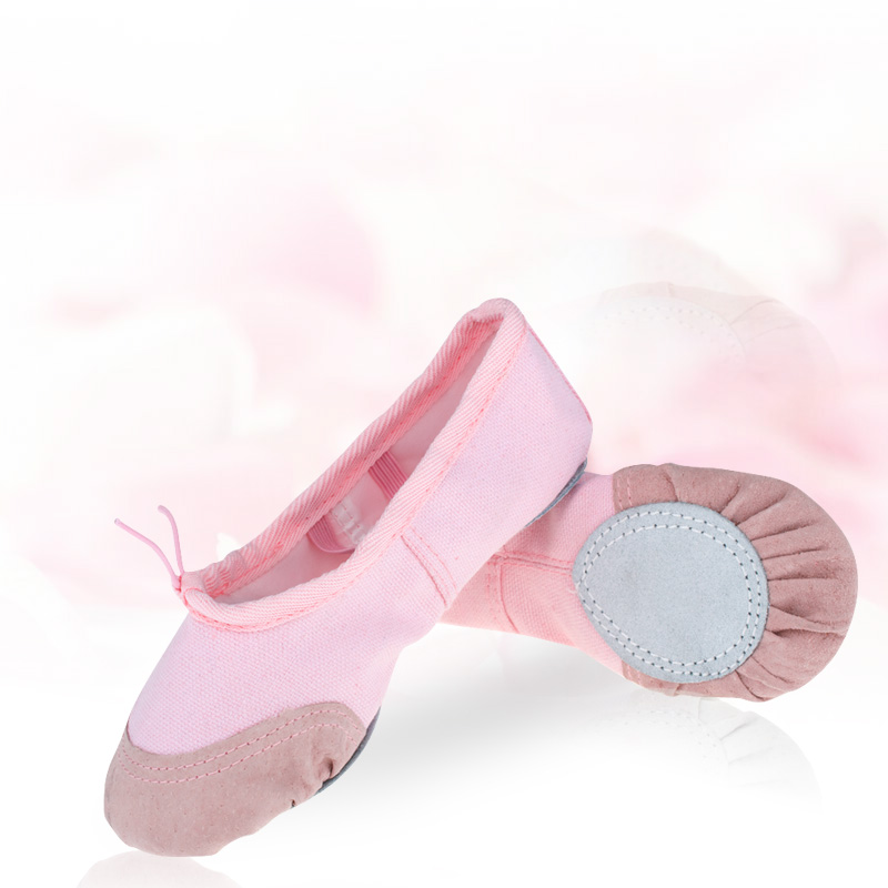 Get Quotations · Infants and young children canvas soft bottom catlike shoes dance shoes girls practice shoes ballet shoes