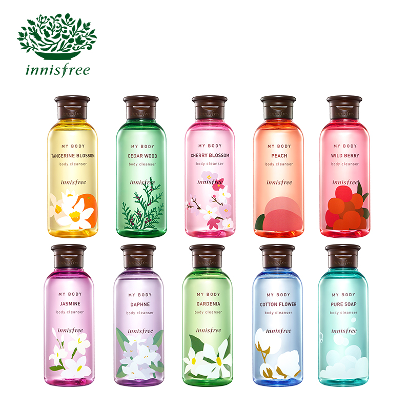 Innisfree/innisfree wyatt enjoy body fragrance shower gel 300 ml 10 models optional