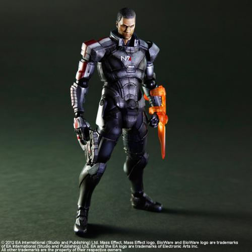 Inplay bnm square enix play arts change mass effect 3 xue pade hands full to do