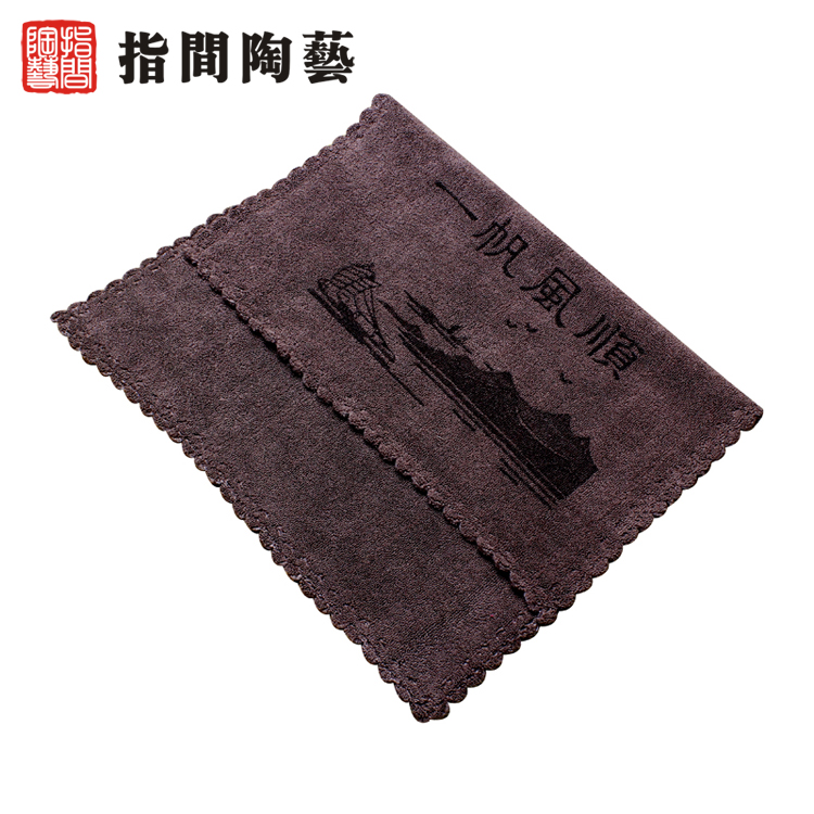 Interphalangeal pottery large super absorbent tea towel thick cotton towel superfine cloth kung fu tea tea tea tool
