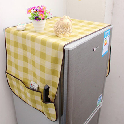 Intimate refrigerator dust cover + pouch/finishing bag wovens/refrigerator dust cover