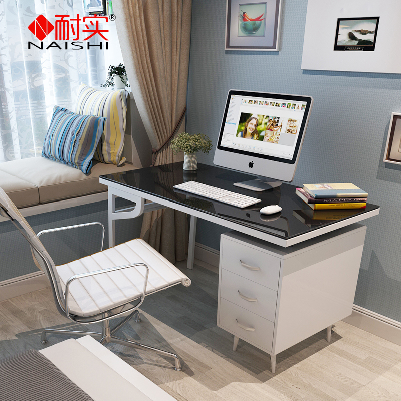 Get Ations Is Resistant Glass Coffee Table Modern Minimalist Home Desktop Computer Desk
