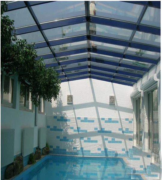 Get Quotations Is Shown In The Sun Glass House Courtyard Villa With Swimming Pool