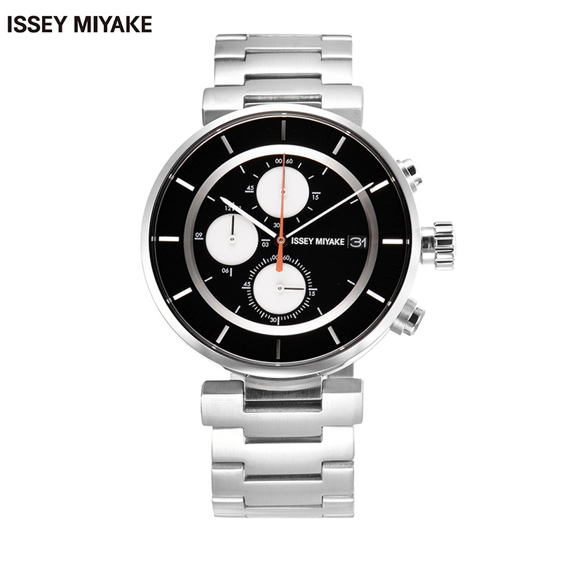 Issey miyake fashion personality male watch japan waterproof strip men watch men's watches silay