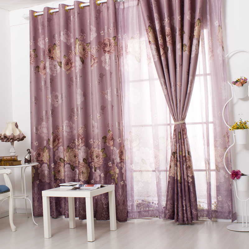 China Beautiful Purple Curtains, China Beautiful Purple Curtains ...