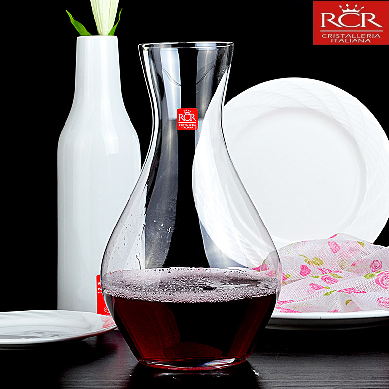 Italy imports rcr unleaded crystal wine glass wine jug wine decanters points jiuzun wine sheng wine