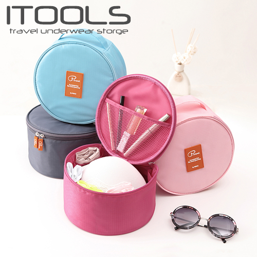 Itools travel storage bag round bra bra underwear storage bag bra finishing bag storage bag cosmetic