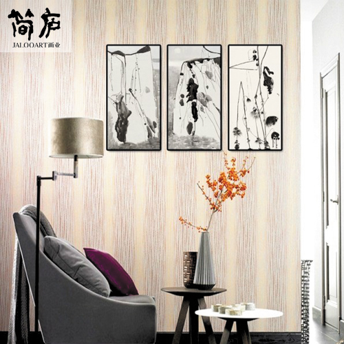 Jane lu brand jane stylish modern minimalist painting decorative painting the living room tv wall sofa wall paintings triple combination