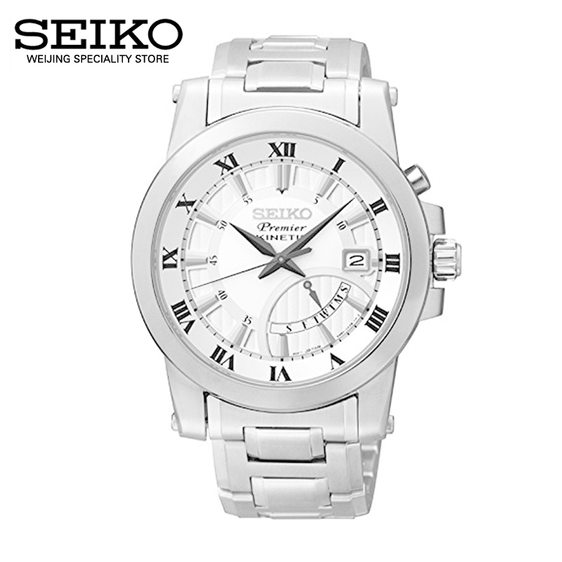 Japan imported seiko seiko premier kinetic series quartz male watch srn037j1