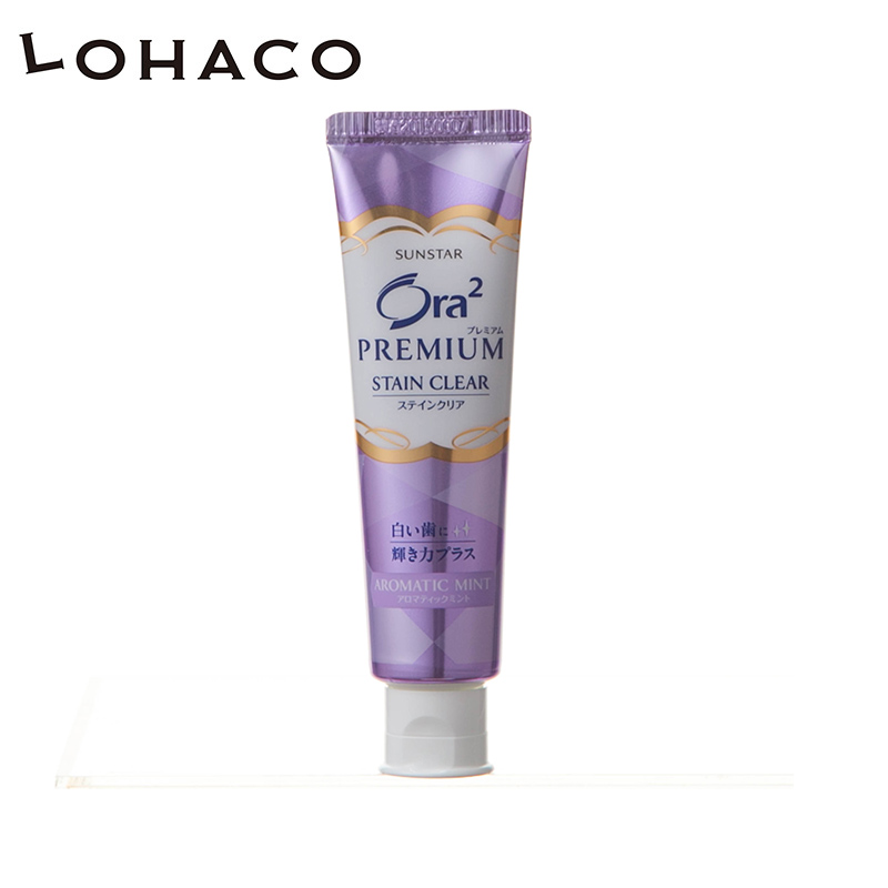 Japanese direct mail [lohaco] sunstar hao yue sheng potential reach ora2 hao yue tooth bright pale color toothpaste 100g