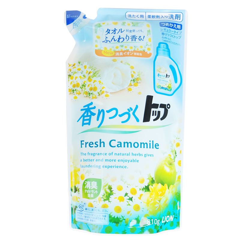 Japanese original lion lion top lasting fragrance liquid detergent containing natural softener 8 10g * no fluorescent agent