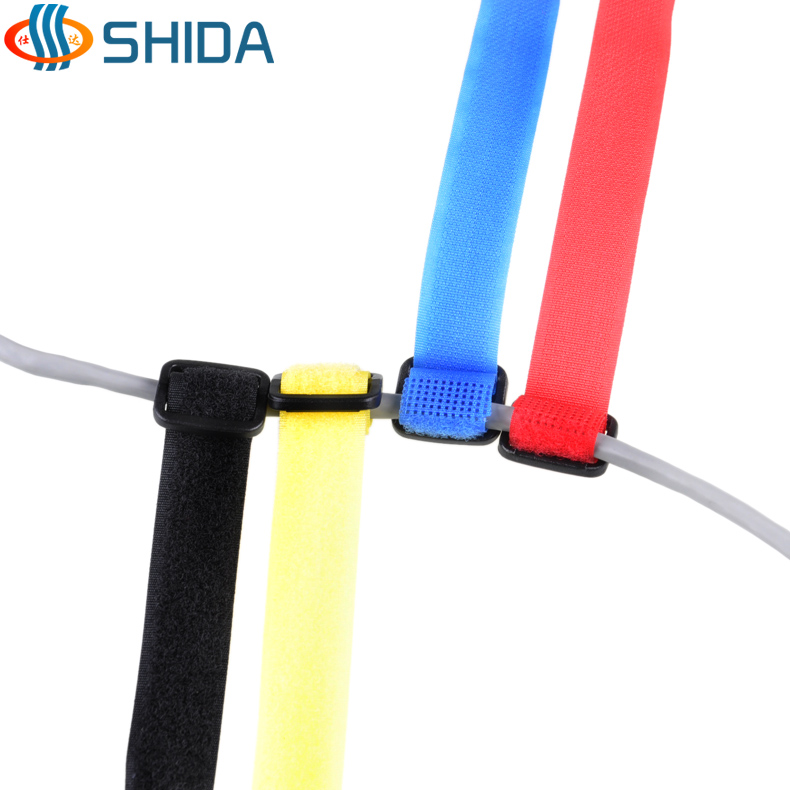 Japanese word buckle velcro cable ties to tie things with velcro velcro cable ties tie line tie line 2.5 cm, length 20 -60 cm