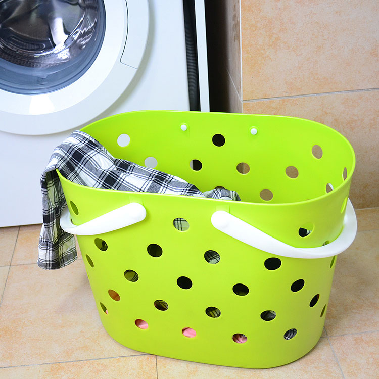 Japan's imports of soft plastic laundry basket laundry basket portable storage basket of dirty clothes storage baskets large laundry barrels close clothes basket clothes