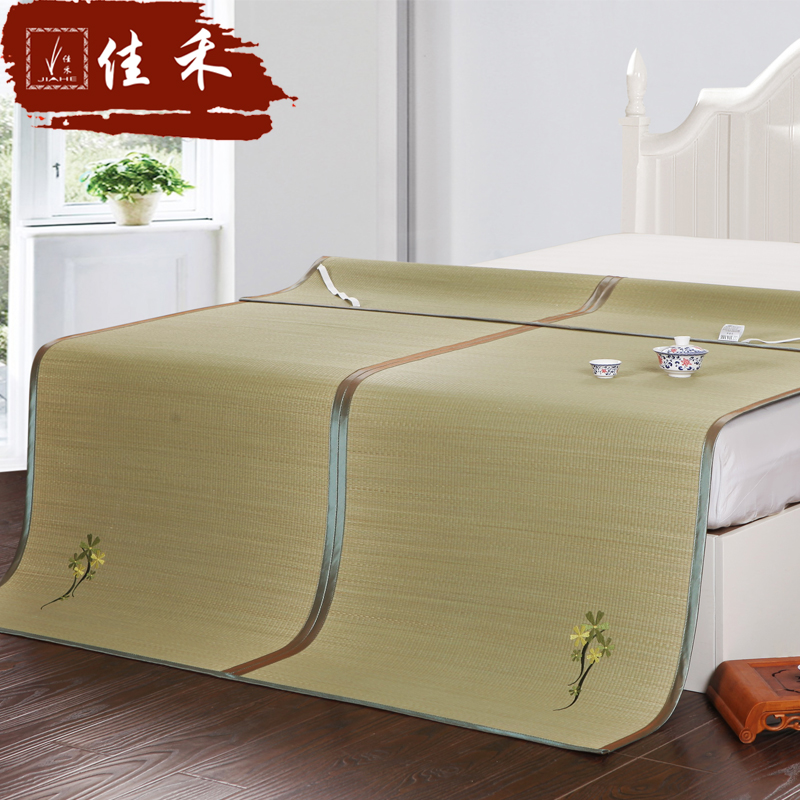Jiahe mat 1.51.8m bed can be folded double single summer 1.2 children's summer mat mats 1.5 m 0.9