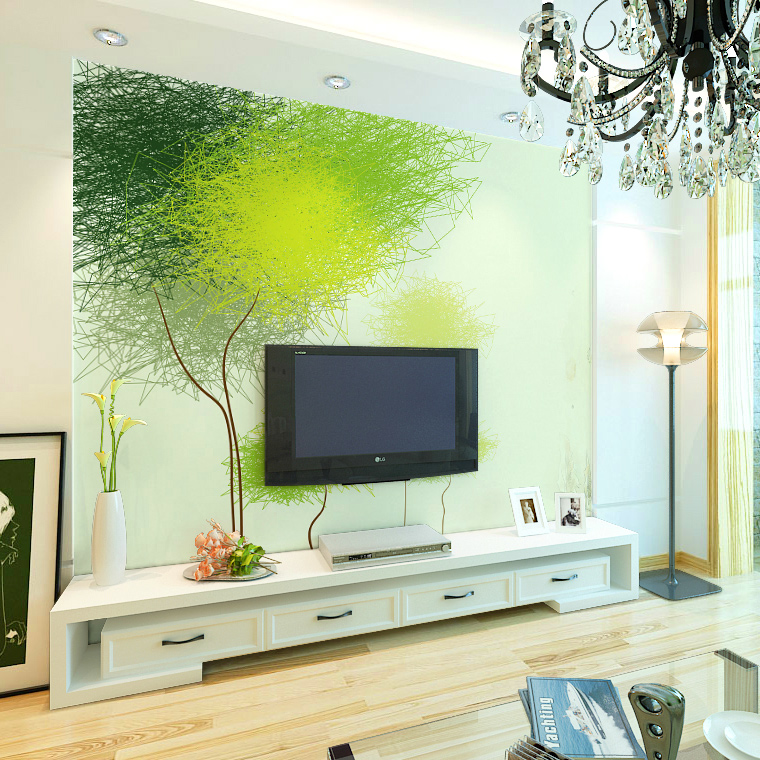 Jimei large wovens wallpaper nonwoven wallpaper wallpaper modern minimalist bedroom living room tv backdrop
