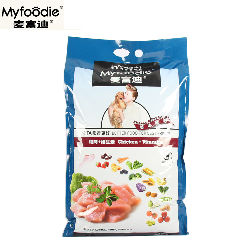 Jimmy fortemedia dog food 10kg expensive bin taidi bichon golden retriever adult dog food chicken vitamin natural food 22 provinces shipping