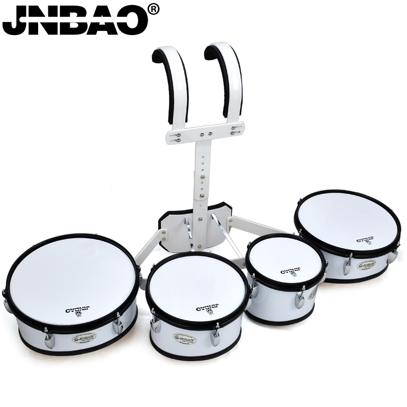 Jin bao genuine JBQA-04 quadruple marching snare drum snare drum snare drum send drumsticks backrest