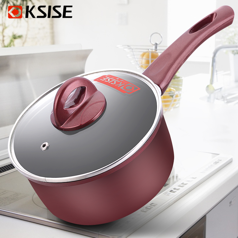 Jin lian nonstick pan thickening shipping baby milk pot boiling pot pot to cook instant noodles pot cooker universal
