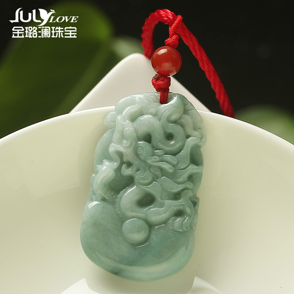 Jin lulan emerald a cargo twelve zodiac jade pendant zodiac sheep pig monkey tiger zodiac pendant male and female models 03