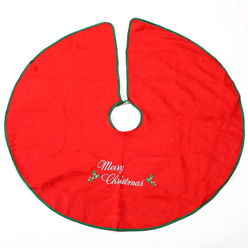 Jin ye christmas decorations christmas tree christmas tree skirt apron bottom decoration christmas round rug