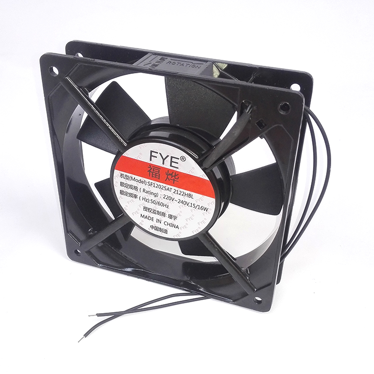 Jin yu fu ye fye 12025 double ball bearing fan motor blower cabinet SF12025 2122hbl