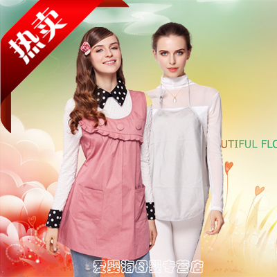 Jing qi radiation suit radiation maternity clothes silver fiber apron vest surrounding metal vest skirt dress suit free shipping
