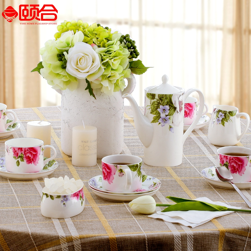 Jingdezhen bone china coffee mugs suit upscale gift porcelain coffee mugs ceramic coffee mugs coffee cup and saucer