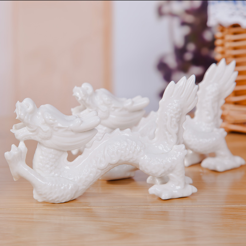 Jingyi ssangyong modern fashion ceramic crafts home decorations ornaments creative gifts cute gift ornaments