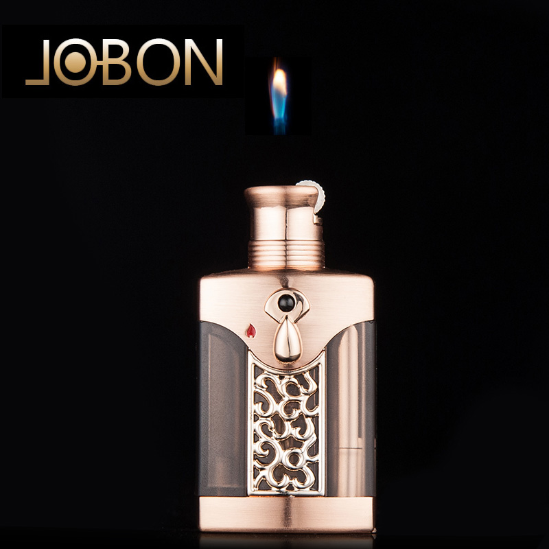 Jobon bang inflatable floating fire wildfire fire lighters lighters creative personality hollow men cigarette lighter wheel