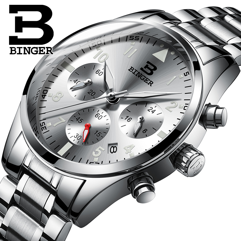 Jordan chan endorsement genuine binger accusative watches fashion quartz watch waterproof men's watch whirlwind series