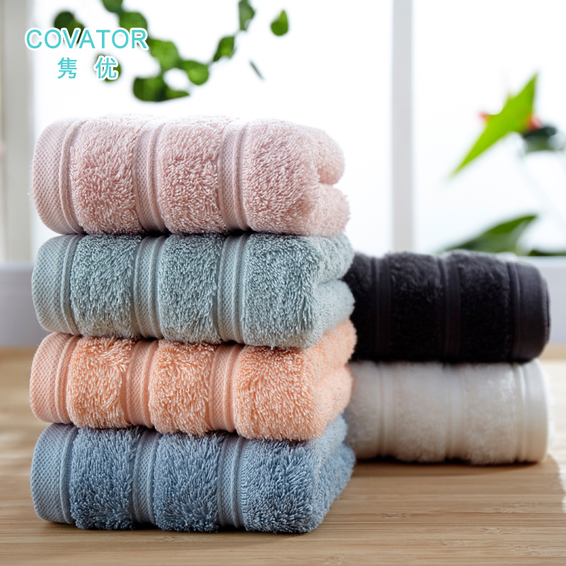 Juan euclidian gifted xinjiang cotton long staple cotton plain cotton towels soft absorbent cotton towel thick cotton towel hotel towel