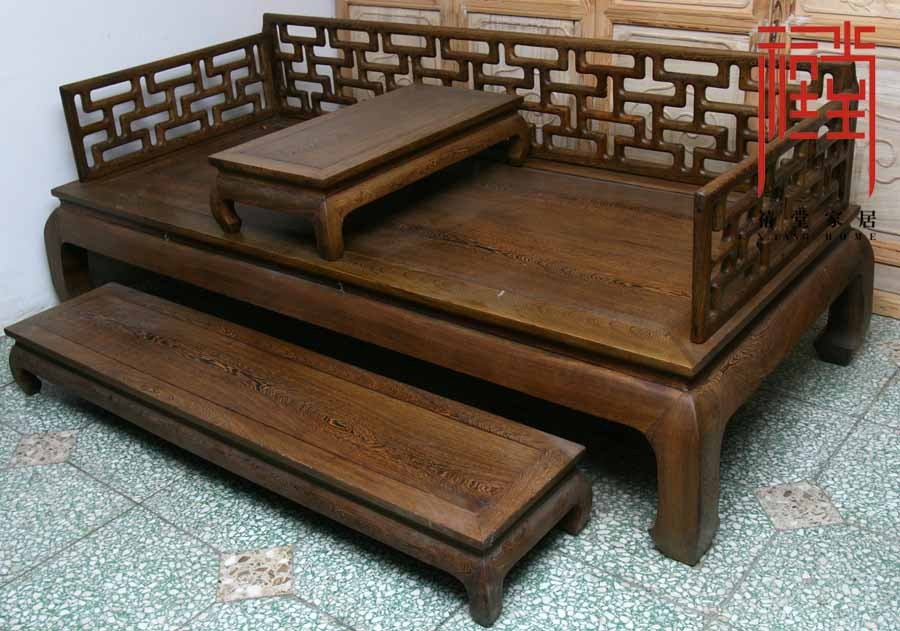 Jubilee hall hardwood mahogany wenge wood antique furniture antique furniture paint colt million words gro han chinese bed