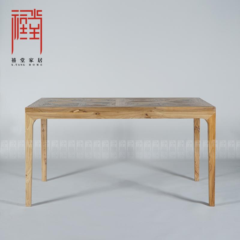 Jubilee hall original design handmade retro modern chinese furniture furniture painting case work desk word [humble]