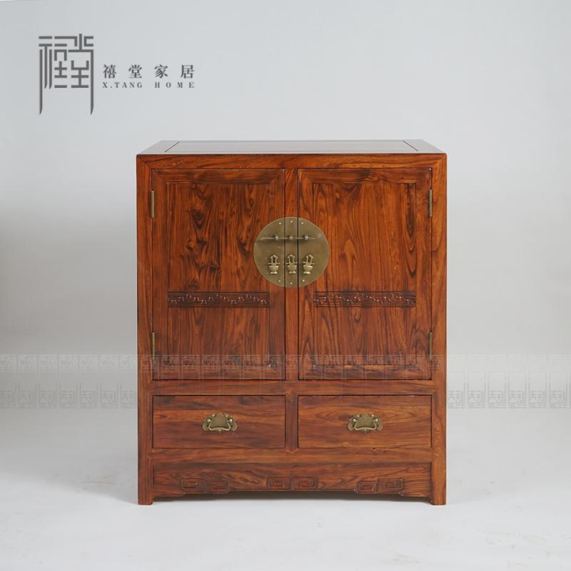 Jubilee hall siping northern old elm wood antique furniture ming and qing furniture antique furniture hall cabinet shoe cabinet sideboard