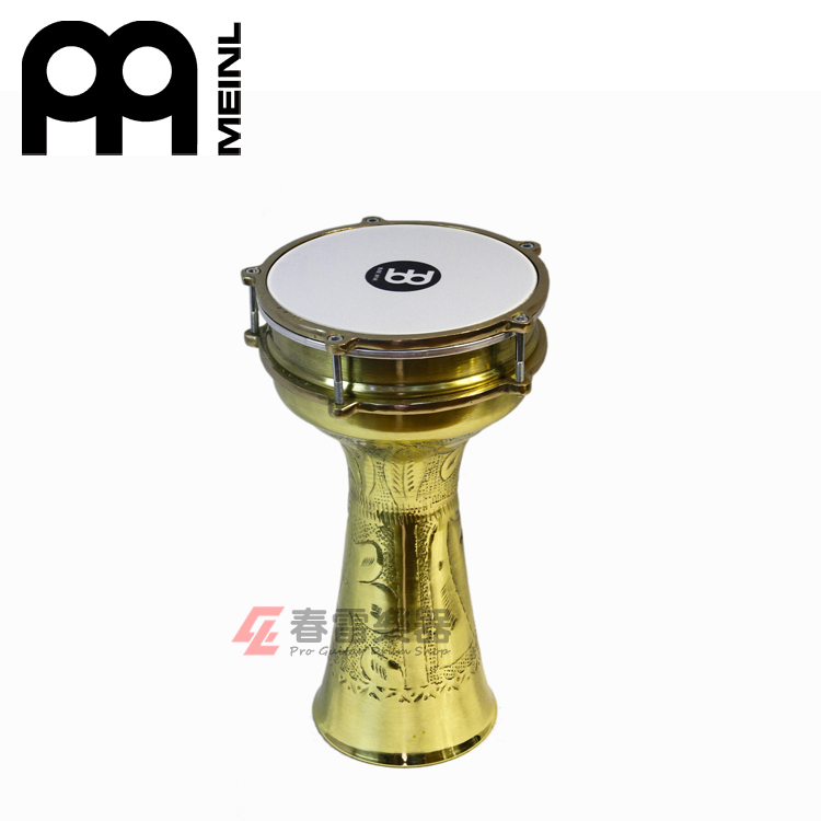 Jubilee musical maier meinl HE-214 carved brass drum in the middle east