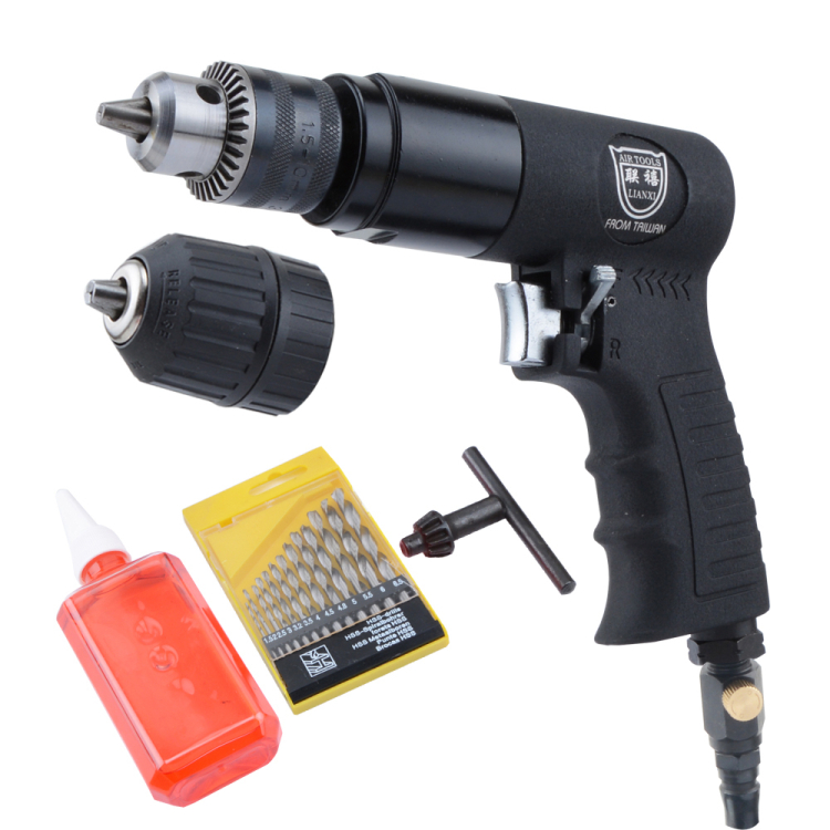 Jubilee taiwan 3/8 gunmen type 10mm industrial pneumatic air drill pneumatic drill drill drill with reversing machine
