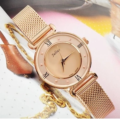 Julius poly belgium authentic watches korean fashion female form korean version of jane about student waterproof watch