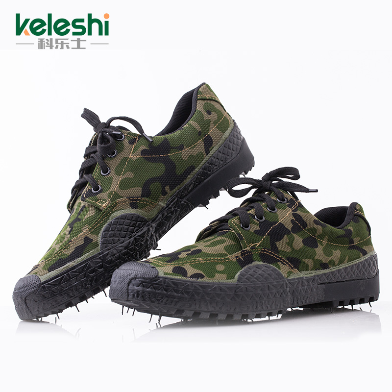 Jungle camouflage shoes jiefang xie 07 training shoes training shoes to help low shoes men shoes authentic military shoes canvas shoes site labor protection shoes